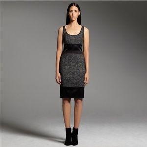 • Narciso Rodriguez Pieced Tweed Sheath Dress 6